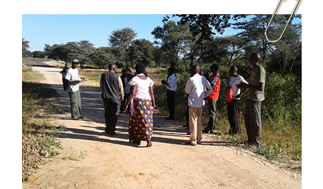 Wildlife Corridor verification and demarcation in Zambia